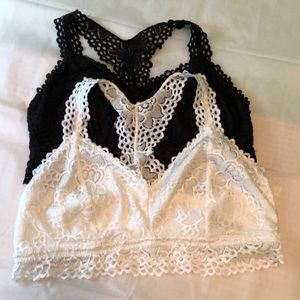 2 Maurices Bralettes